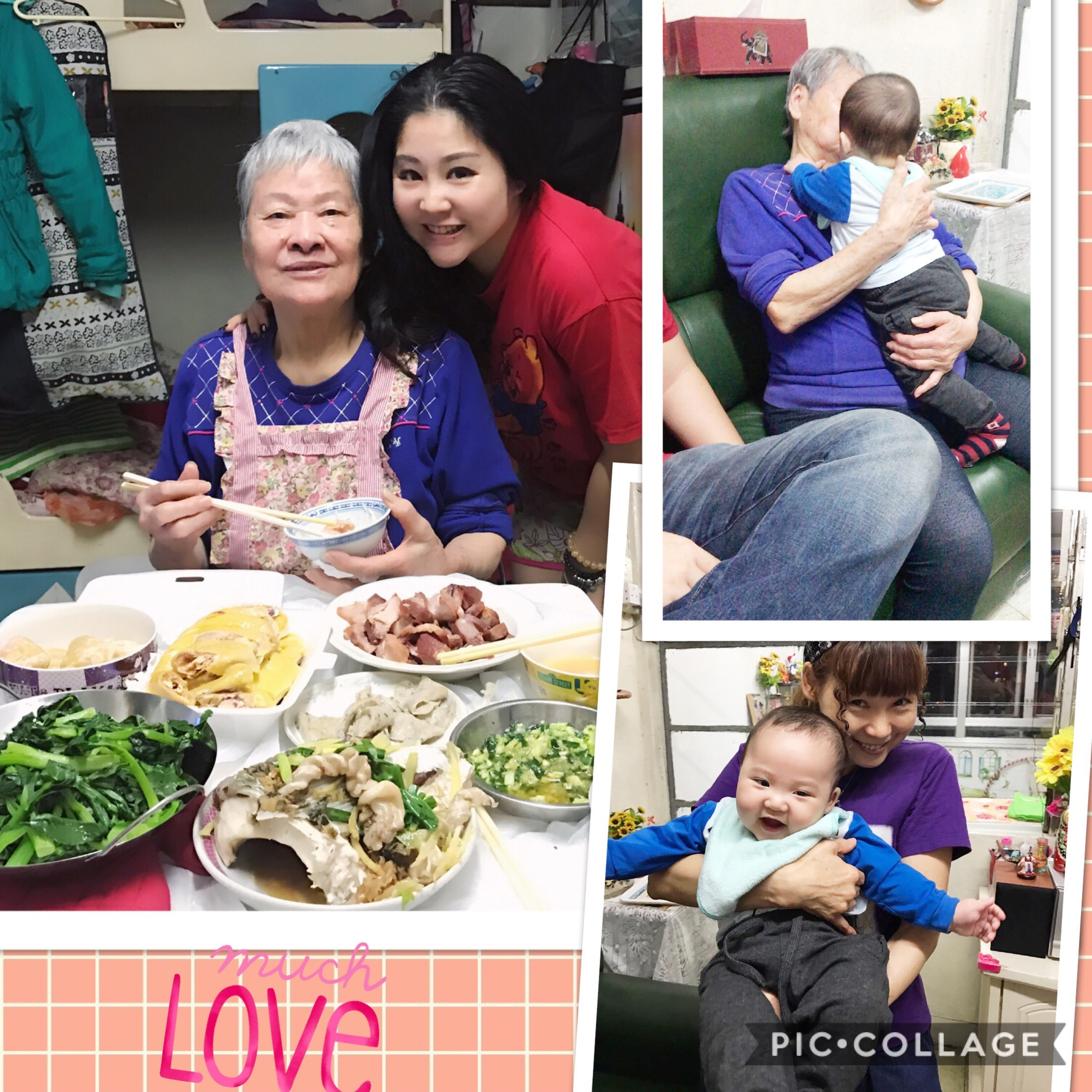 MISS MY GRANDMA\'S COOKING AND SHE MISSES MY BABY ANSON SO MUCH.