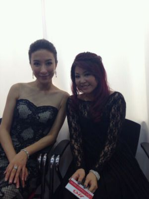 Starhub TVB Award Interview With 杨怡
